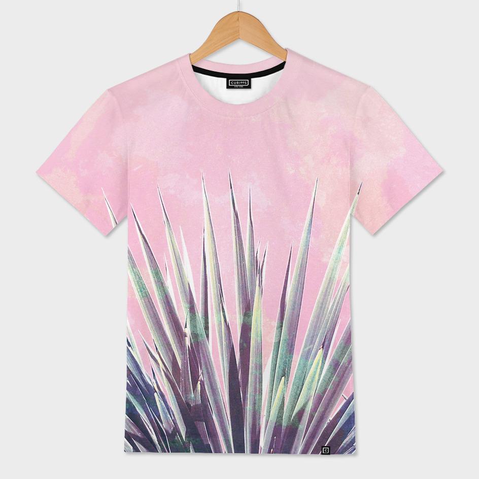 Vintage Yucca Palm - Pink