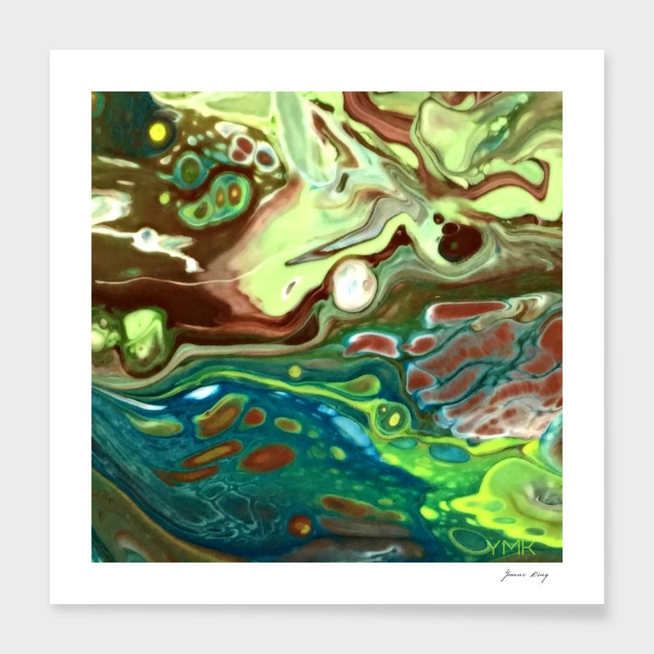 Earth Tone Swirl