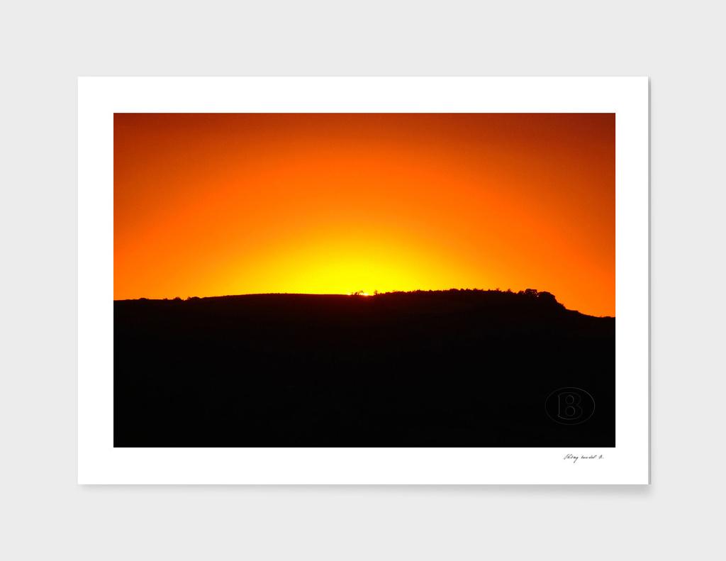 Sunset on Banstol B 2006_0715Fuji0099