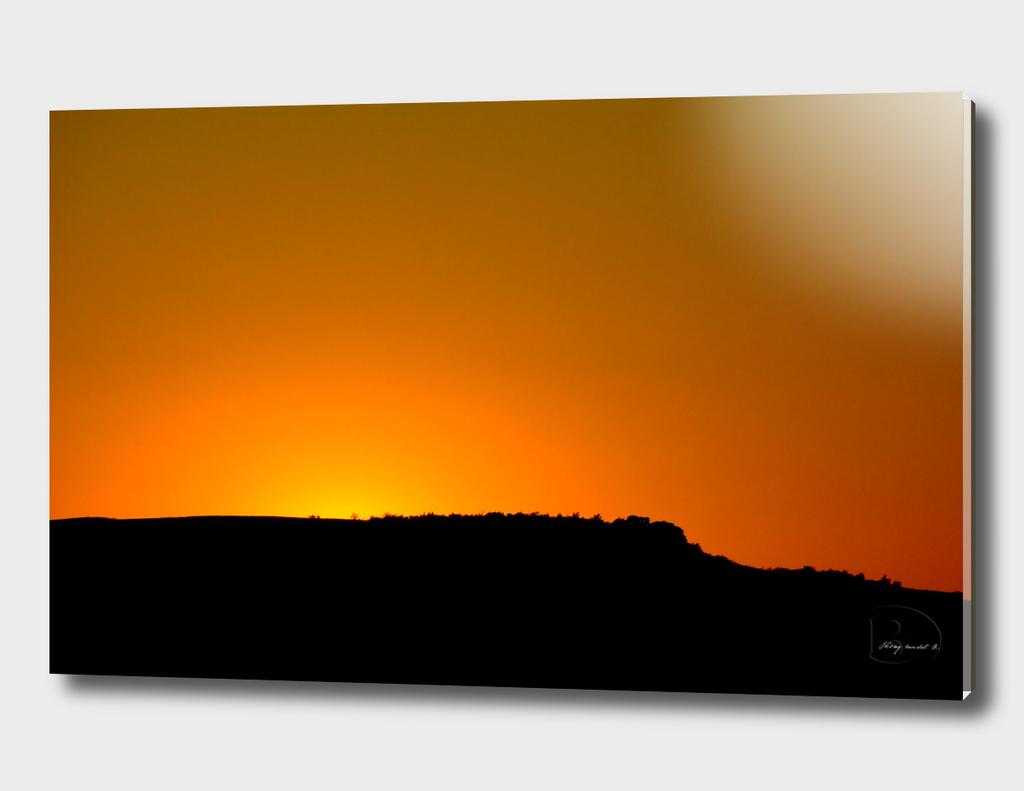Sunset on Banstol B DSCF9418