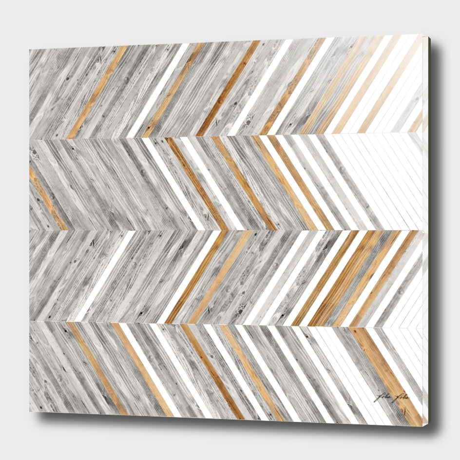 COPPER AND GREY WOOD