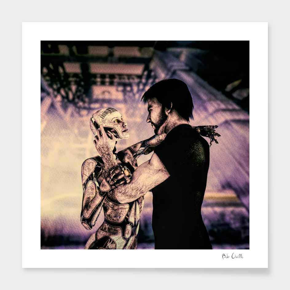 Lovers Man and Machine
