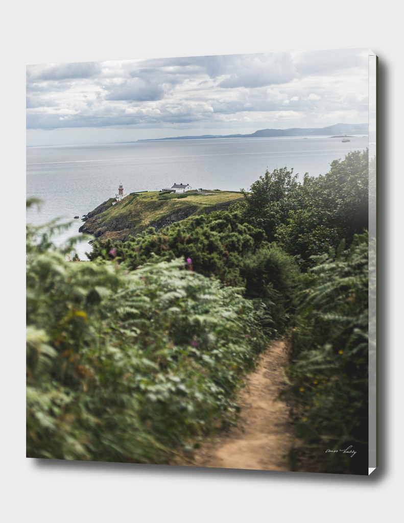 Path to Howth Lighthouse