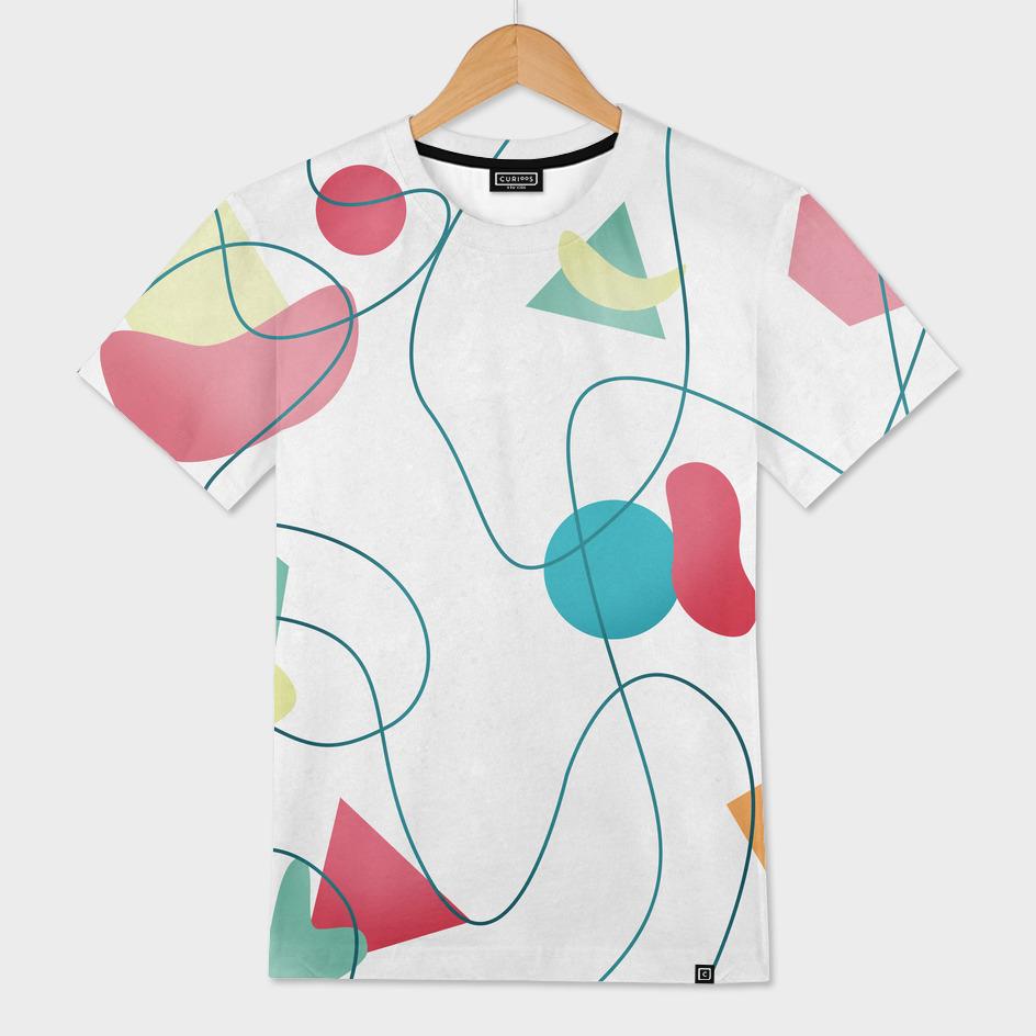 Geometric Miró Pattern