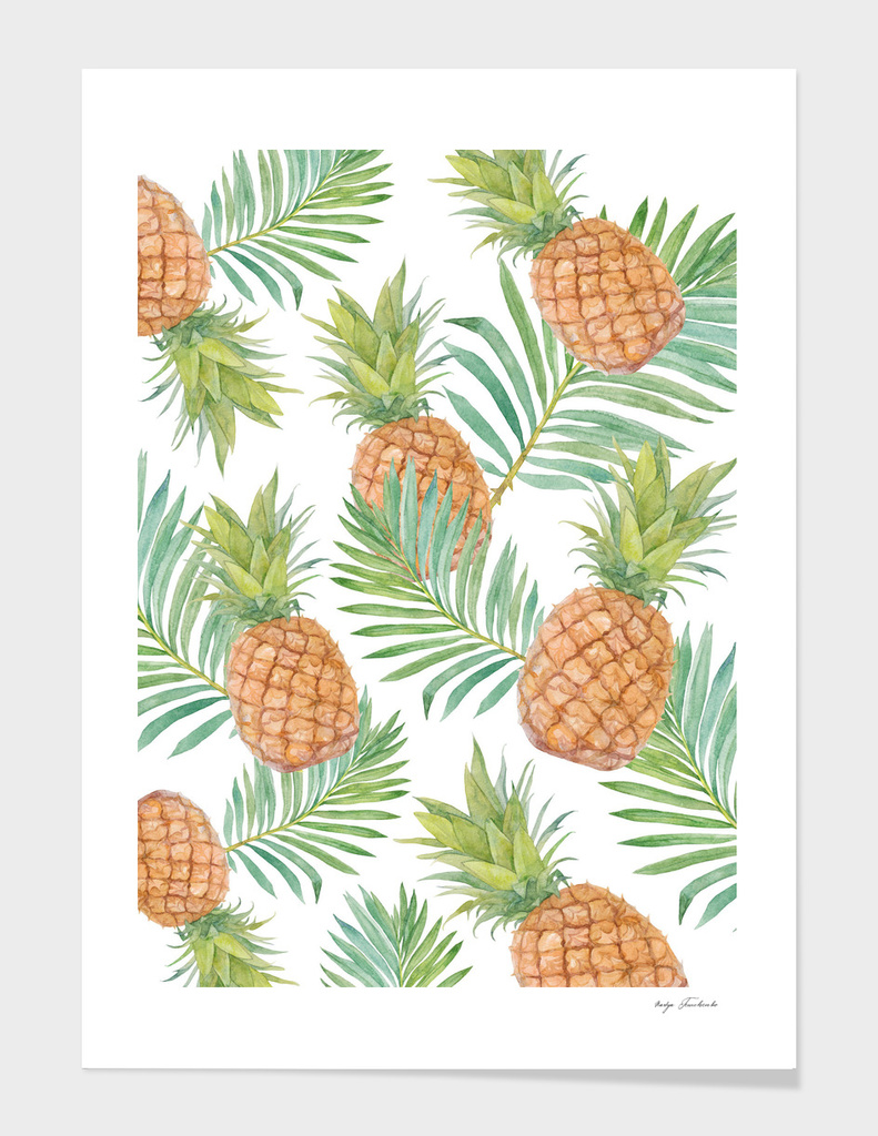 Pineapple pattern.