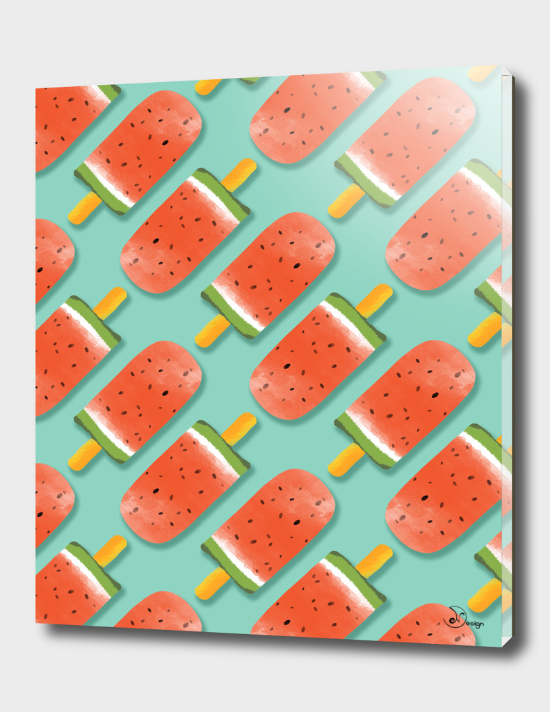 Watermelon Popsicles Pattern