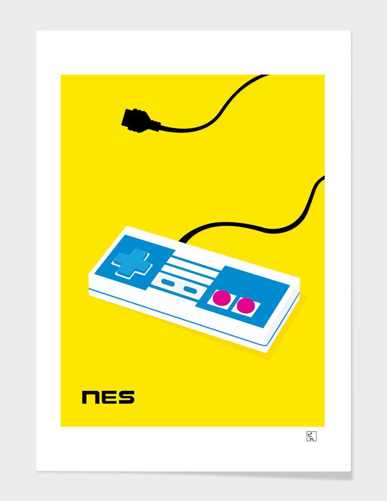 Pop Art NES Controller