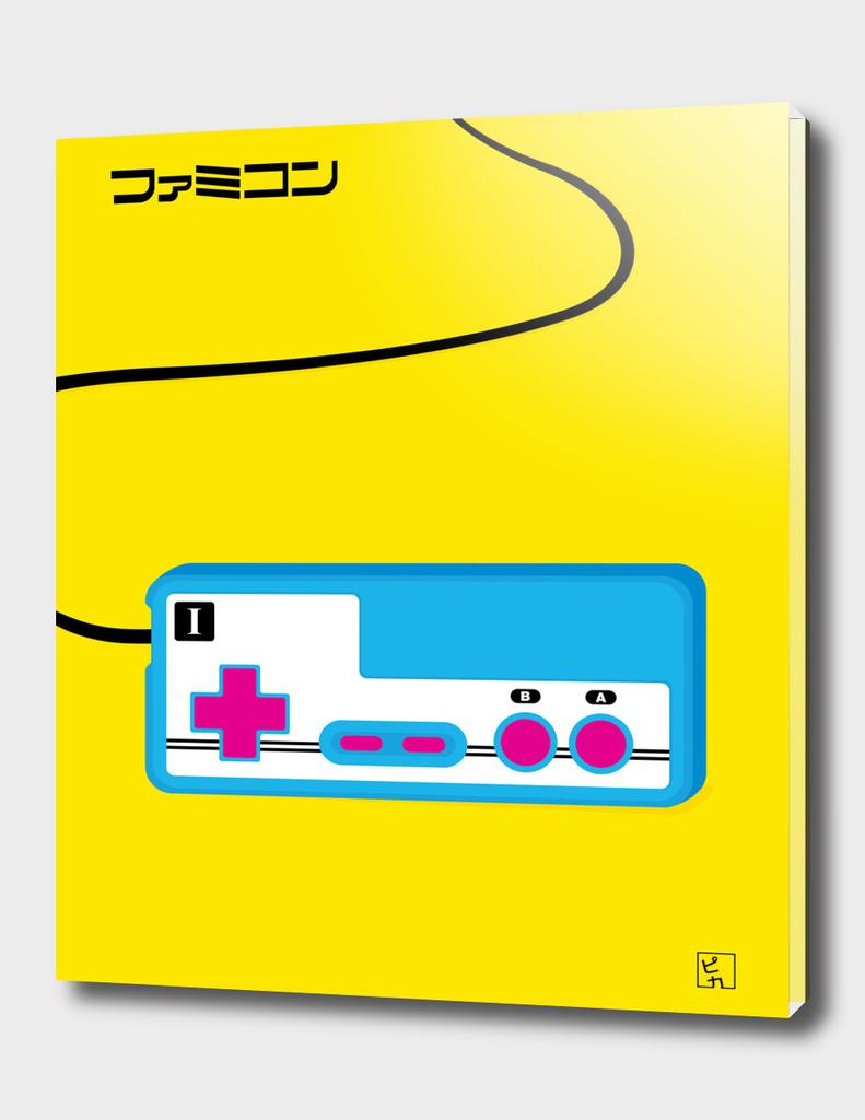 Pop Art Famicom Controller
