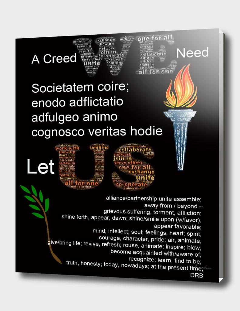A Creed We Need