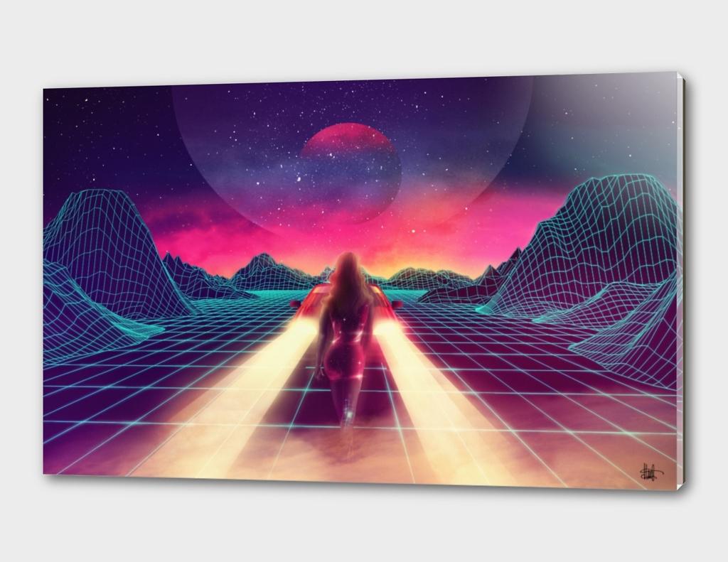 Cosmic trip.