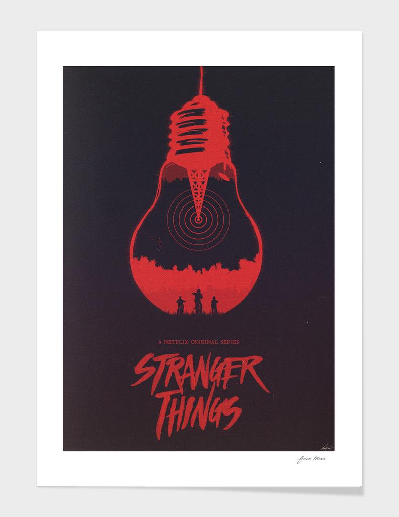 The Upside Down - Stranger Things