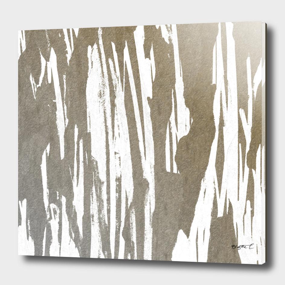 Abstract Taupe Splash Design