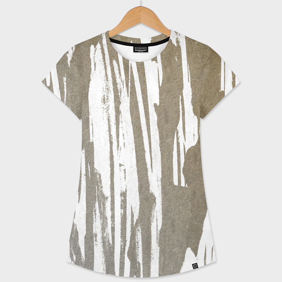 Abstract Taupe Splash Design
