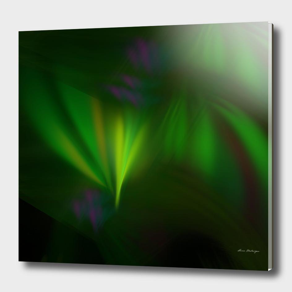 This fractal looks like aurora