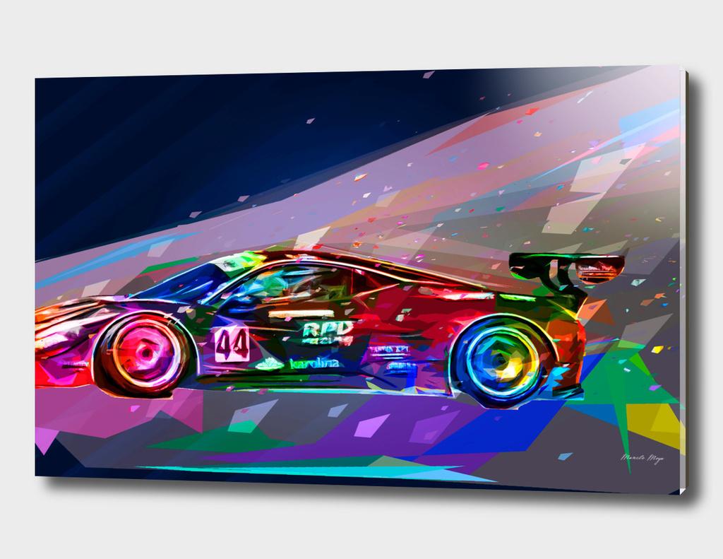 Ferrari's color race
