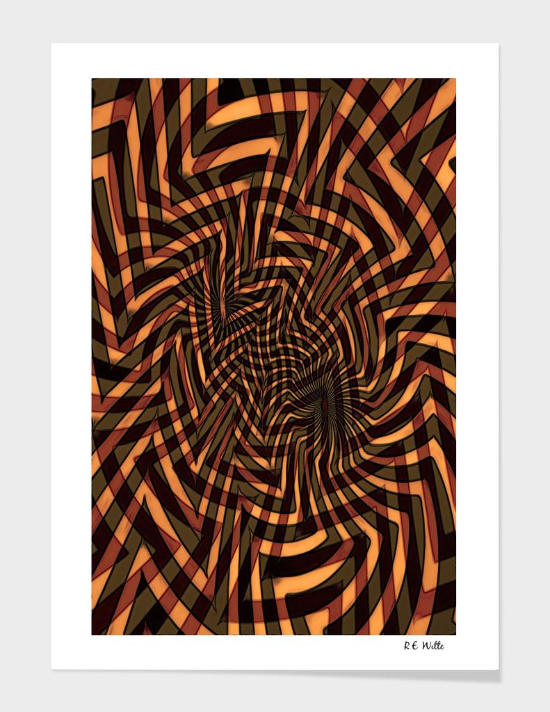 Tiger Spider Spiral