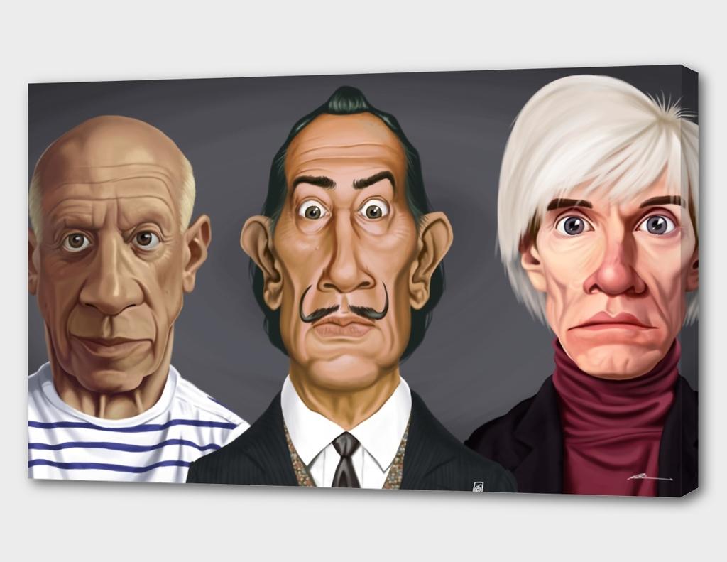 Celebrity Sunday - Famous Painters