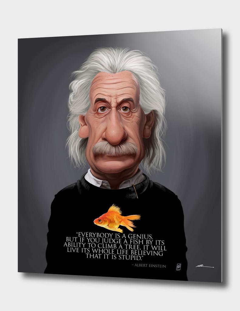 Celebrity Sunday ~ Albert Einstein Fish