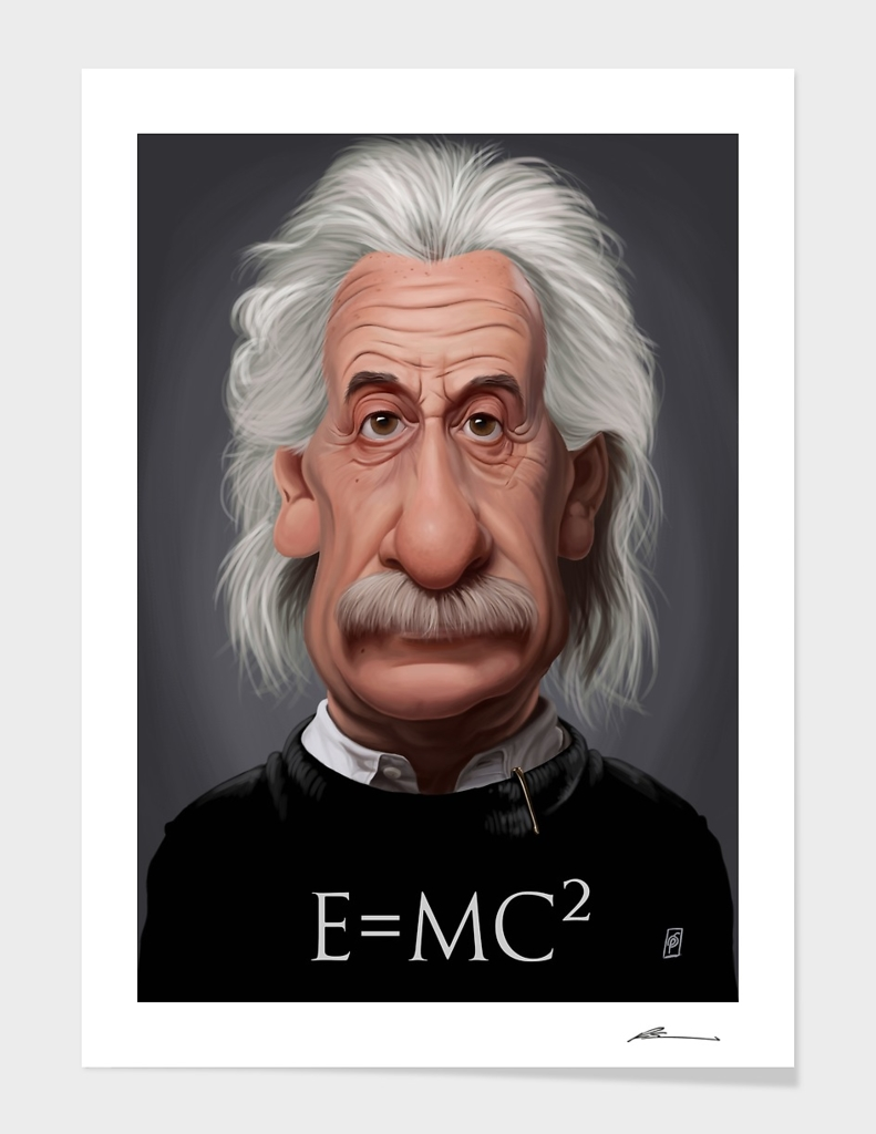 Celebrity Sunday ~ Albert Einstein E=MC²