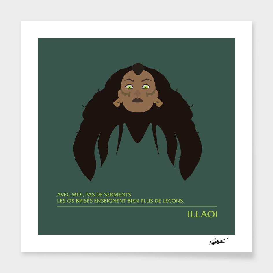 Illaoi - Prêtresse du kraken