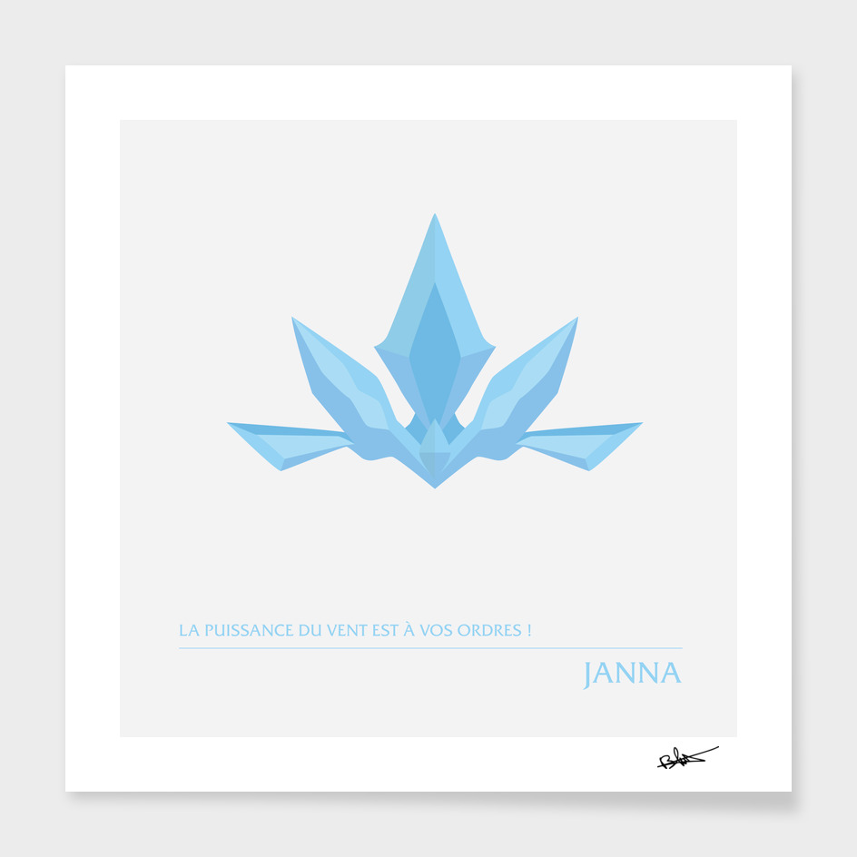 Janna - Avatar de l'air