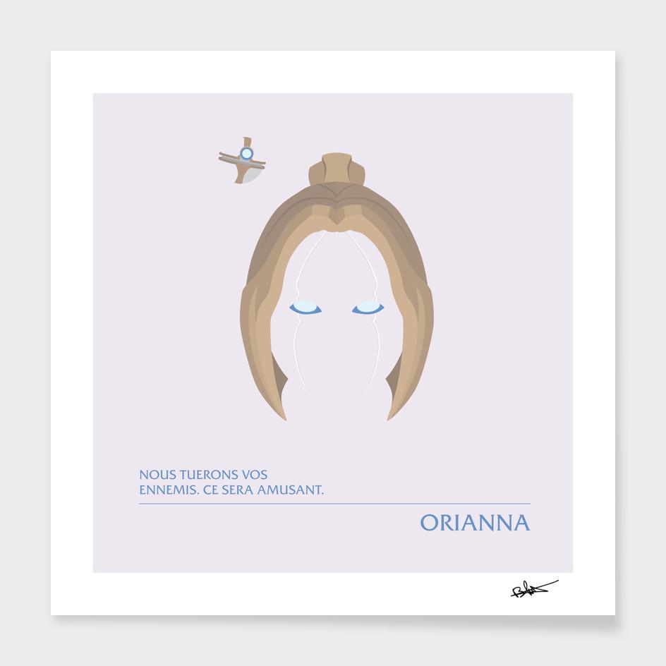 Orianna - Demoiselle mécanique