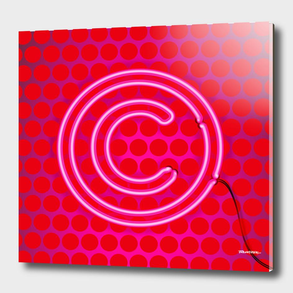 COPYRIGHT FRANKENBERG - red Dots front