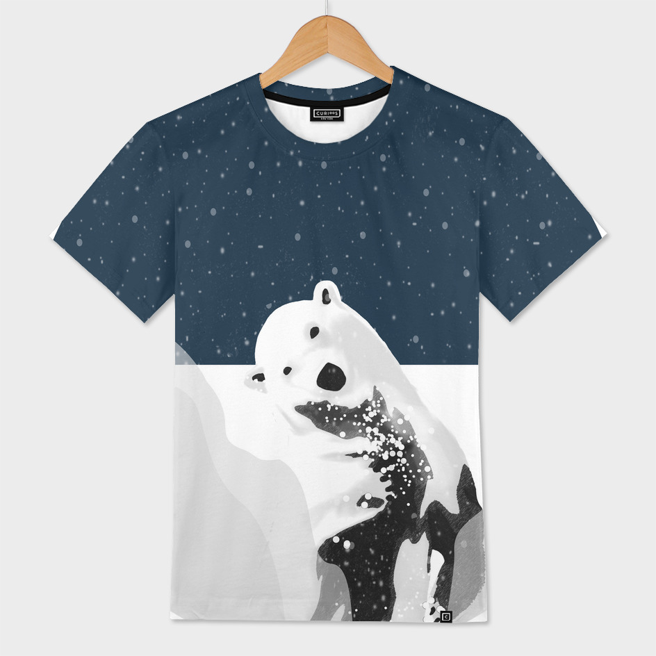 Unique Polar Bear Scene