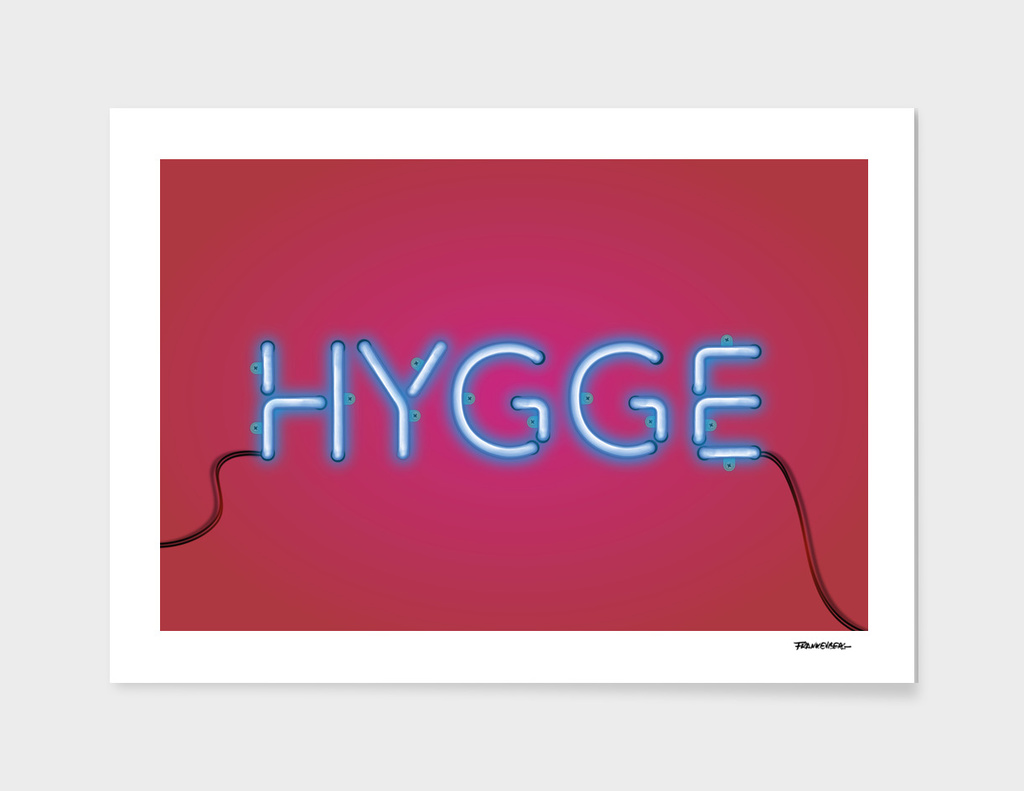 HYGGE - red-blue
