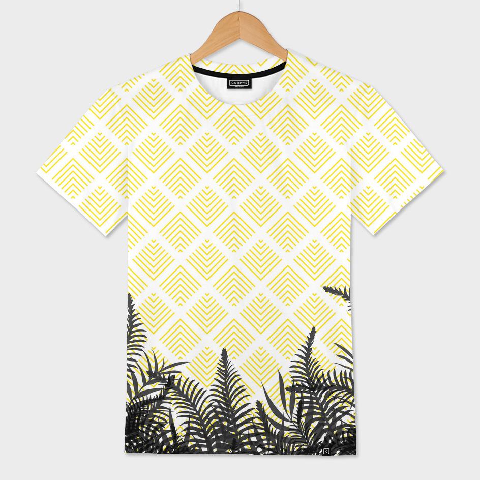 Tropical Ferns on Pattern