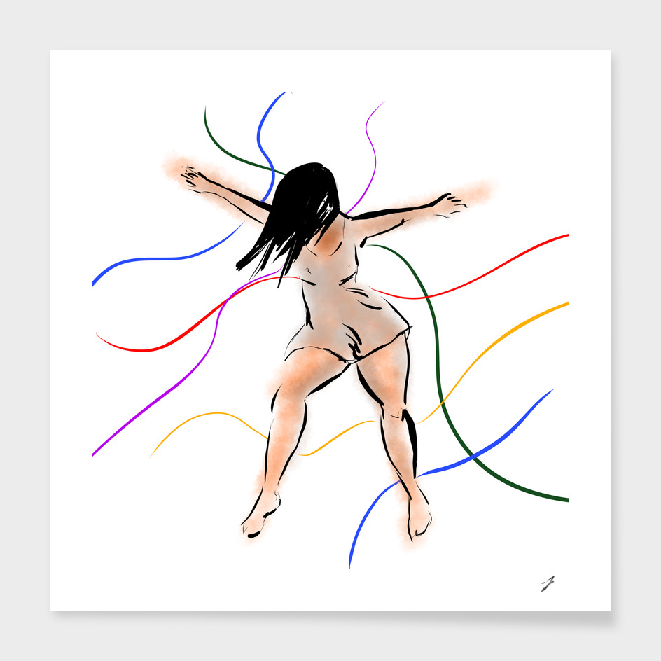 Dancing ribbons