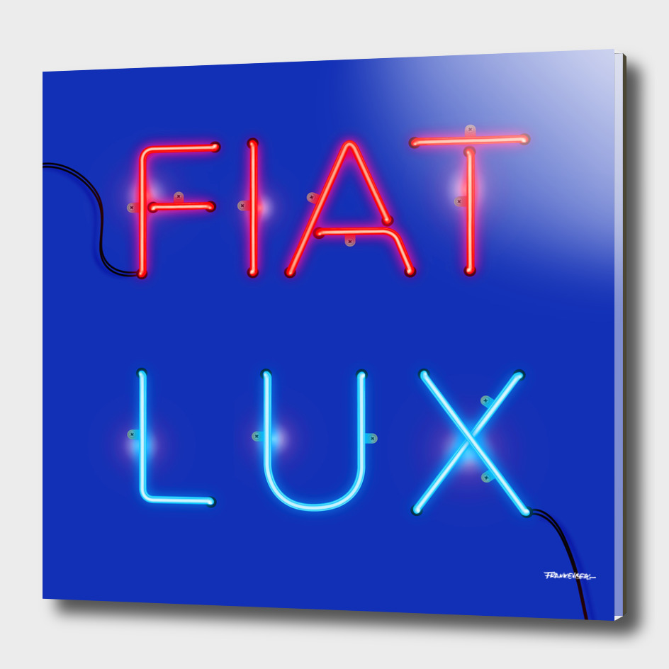 FIAT LUX - Dark blue