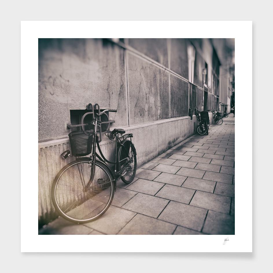 street photo bicycles
