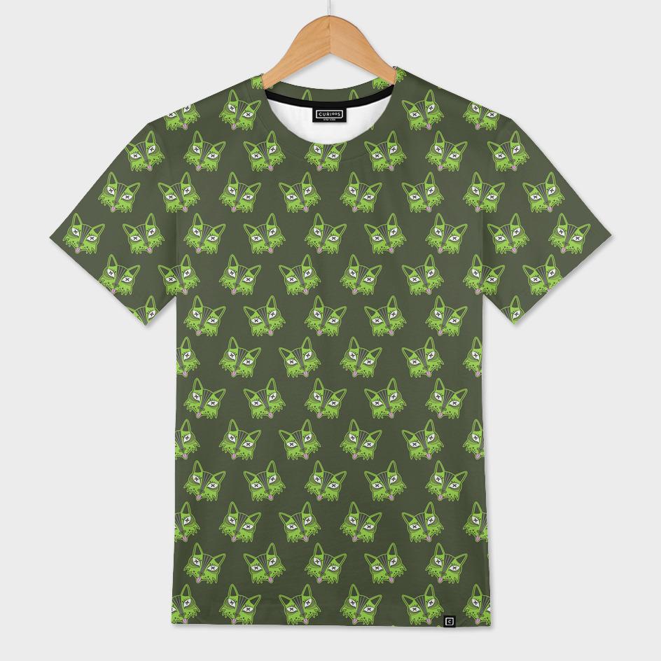 Dead PG Cat Pattern (Green)