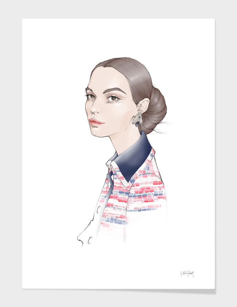 Mina; Chanel Haute Couture SS 2016