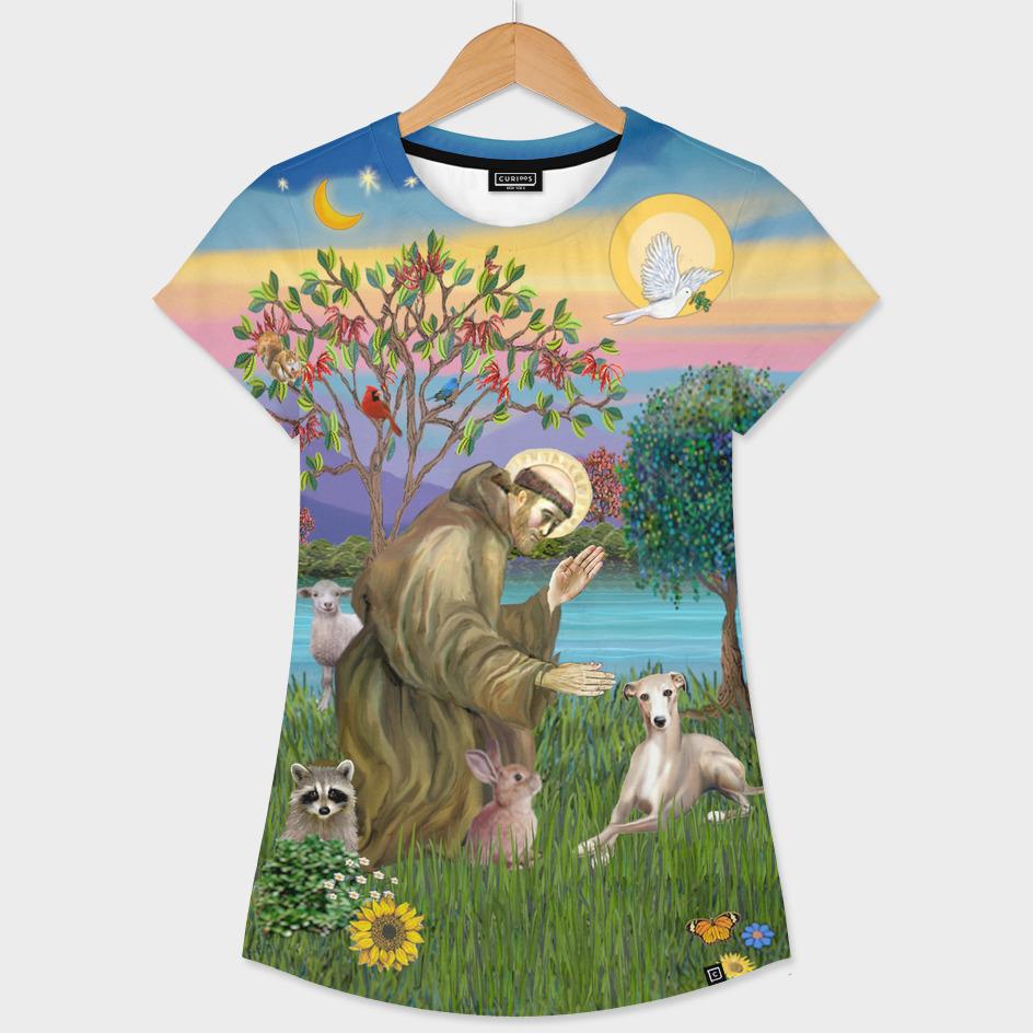 Saint Francis Blesses a Whippet