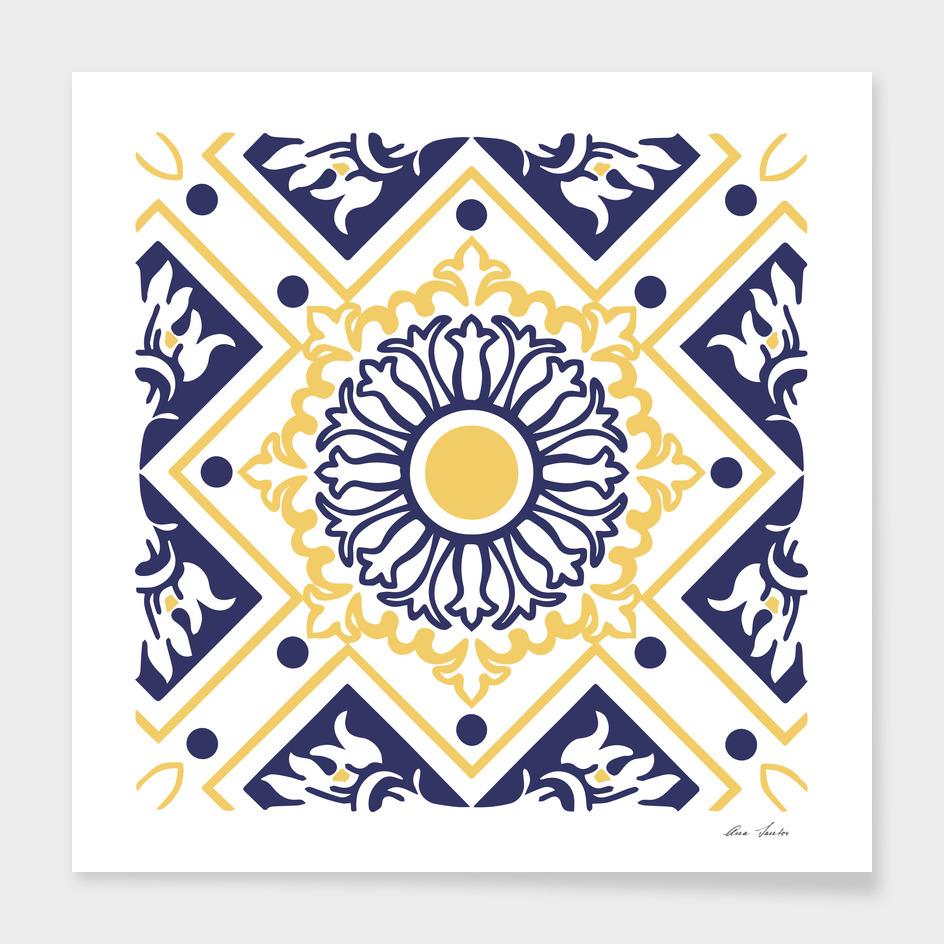 4 azulejo