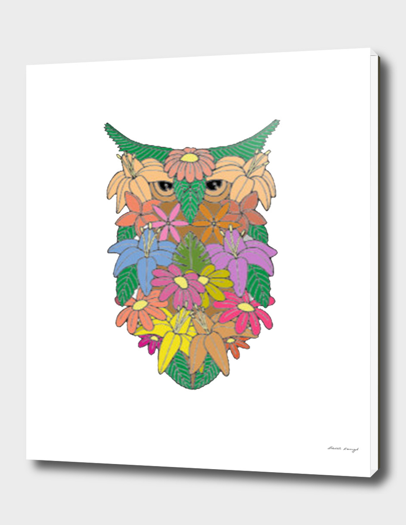 Flowered Owl a