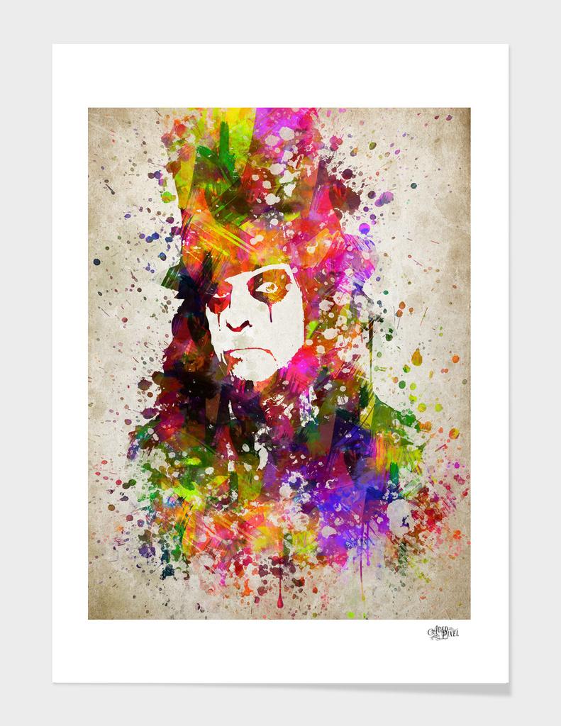 Alice Cooper in Color