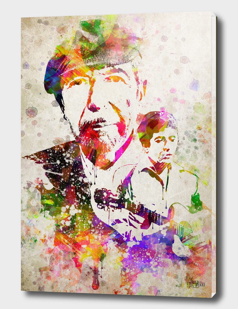 Leonard Cohen in Color