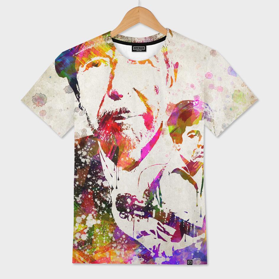 Leonard Cohen in Color