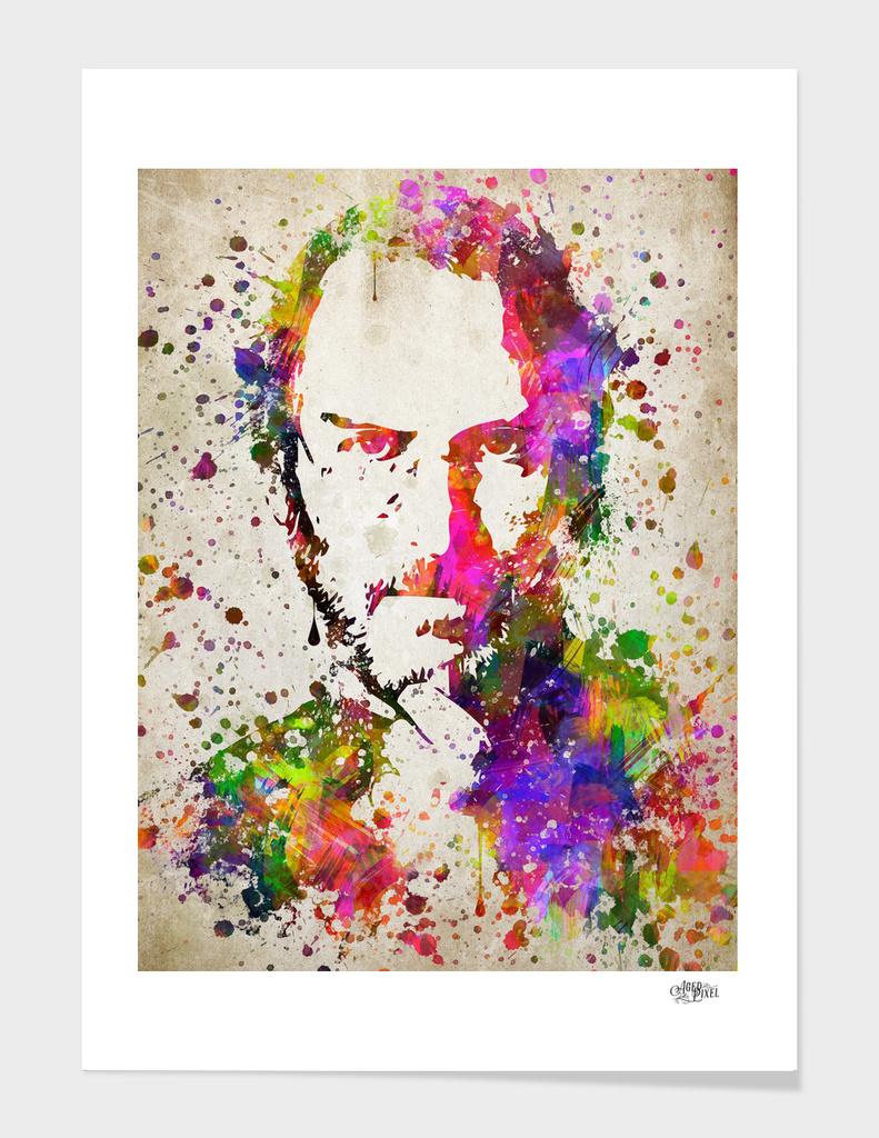 Steve Jobs In Color