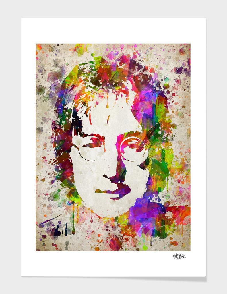 John Lennon in Color
