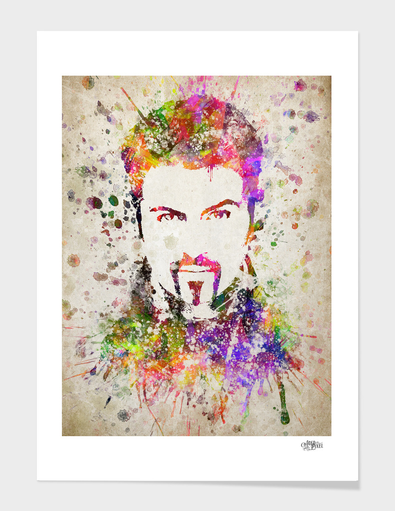George Michael in Color