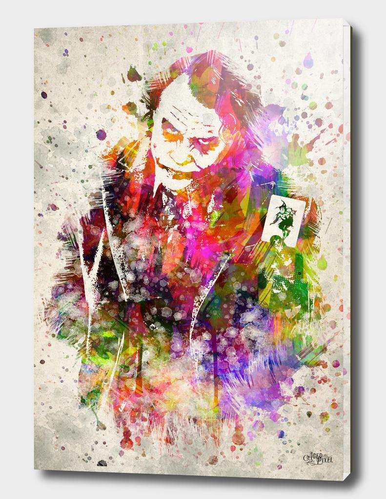 The Joker in Color