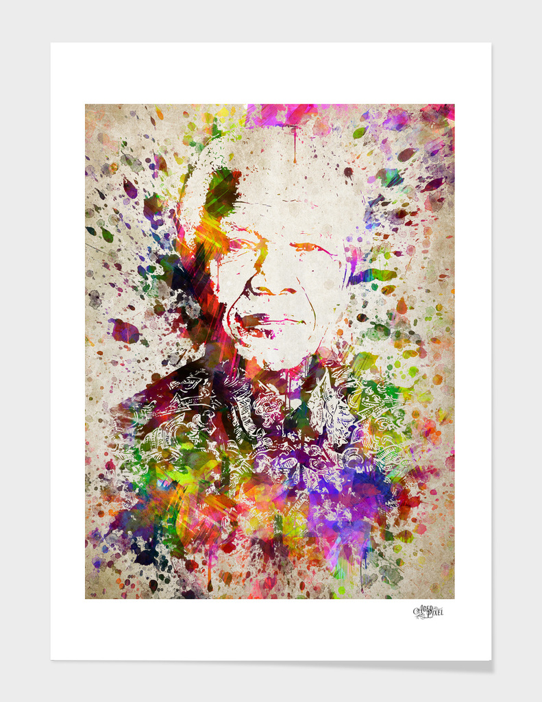 Nelson Mandela in Color