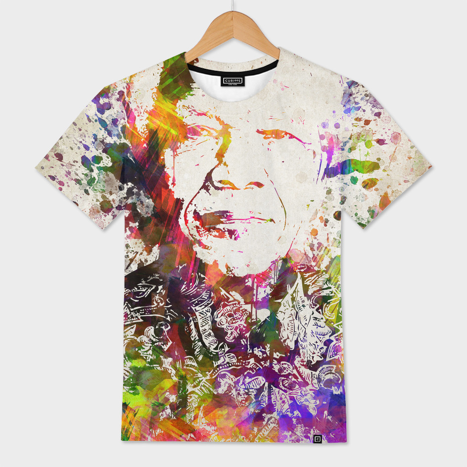 Nelson Mandela in Color