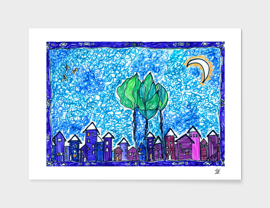 Tree Town ~ An Unusual Night