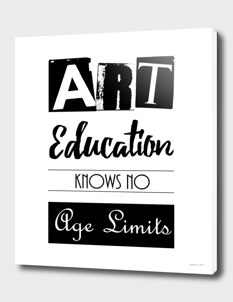 Art Education Knows No Age Limits