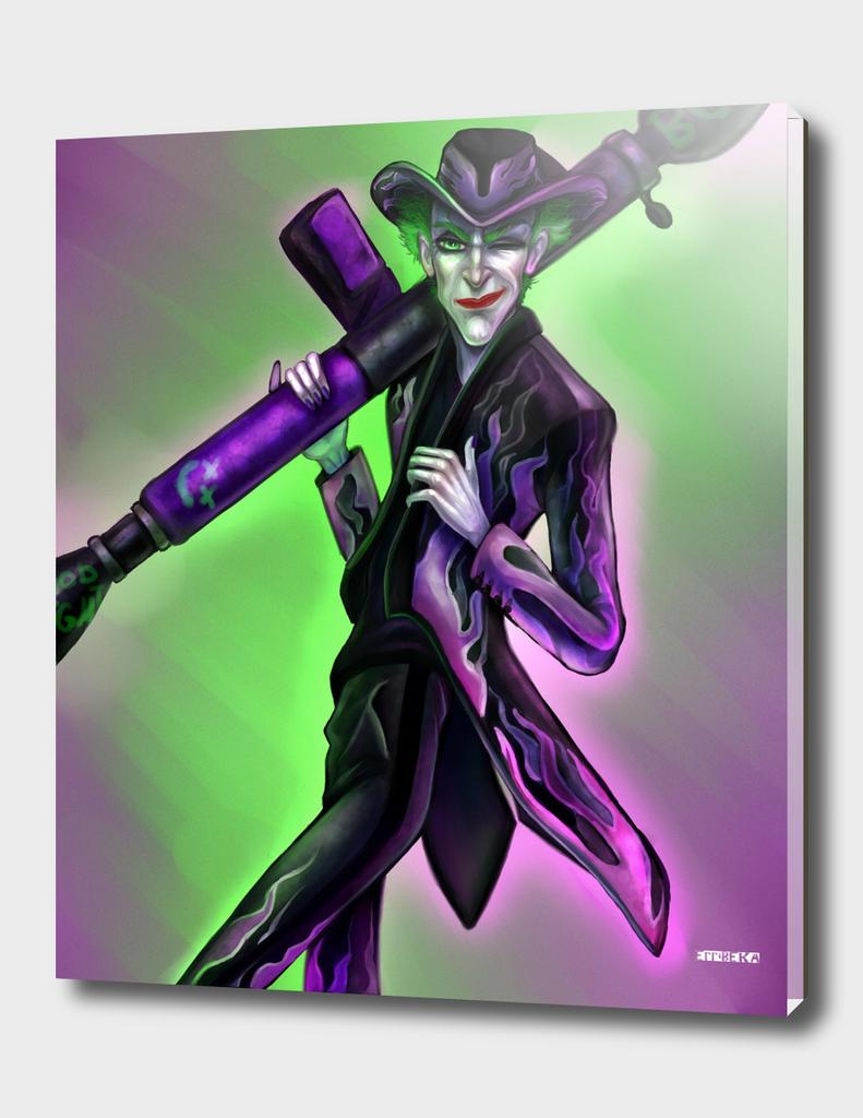 The Joker in Moschino